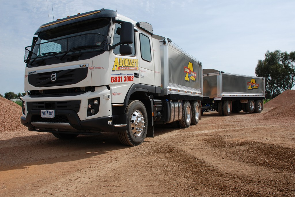 Hamelex White was also able to eliminate unnecessary weight from the trailers, giving Adornato an extra 4.5 tonnes across the whole combination.