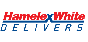 Hamelex White delivers logo